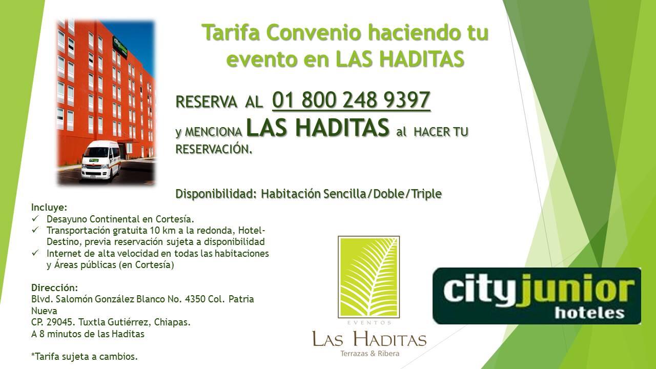 Promoción City Junior-Haditas 2014